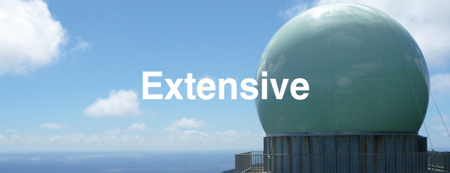 Extensive 総合エンジニアリング&サービス社会として、幅広いニーズにお応えします。