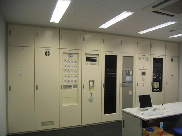 中央監視室設備工事